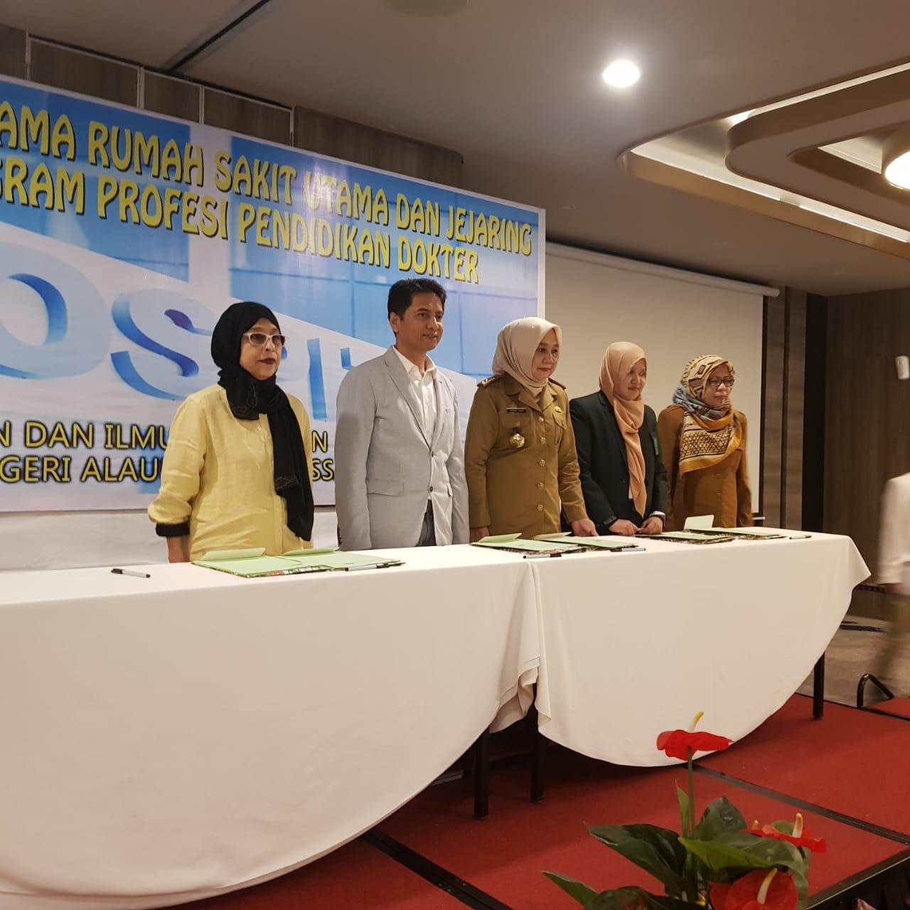 Gambar FKIK UIN Alauddin Gelar Workshop Kerja Sama Rumah Sakit Hingga Luncurkan Program Asyifa