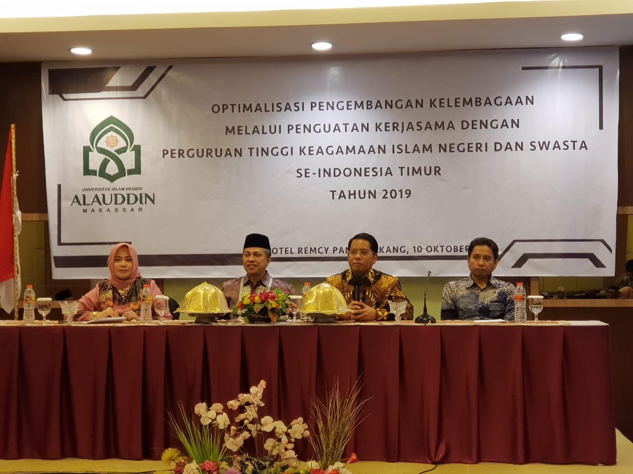 Gambar Kedua Kalinya, UIN Alauddin Gelar Persemakmuran Kerjasama Indonesia Bagian Timur