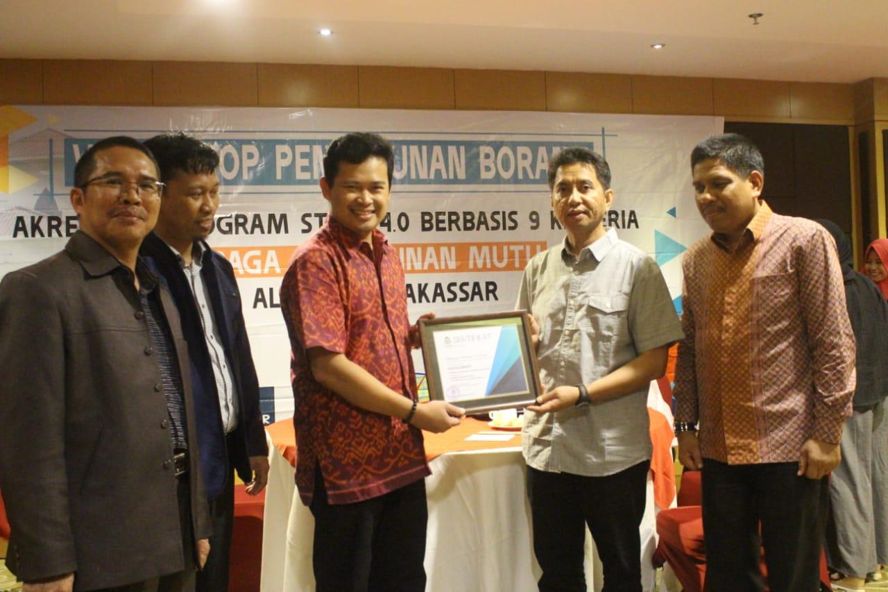 Gambar Jadikan PT Unggul, LPM UIN Alauddin Gelar Workshop Akreditasi Berbasis 9 Kriteria