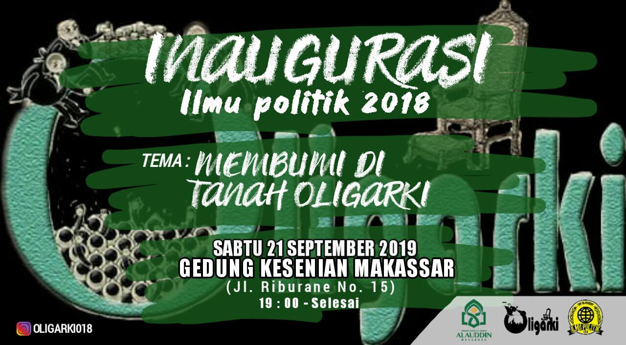 Gambar Ilmu Politik UIN Alauddin Akan inaugurasi
