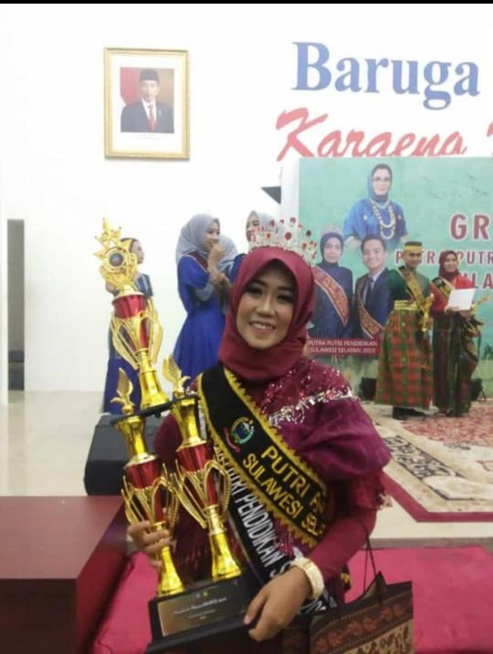 A Ummu Fauziyyah, Juara I Duta Pendidikan Indonesia Tingkat Provinsi