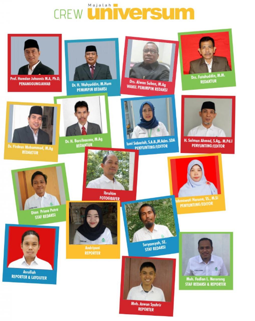 Gambar Aktif Publikasi Digital, Rektor Apresiasi Kinerja Humas UIN Alauddin