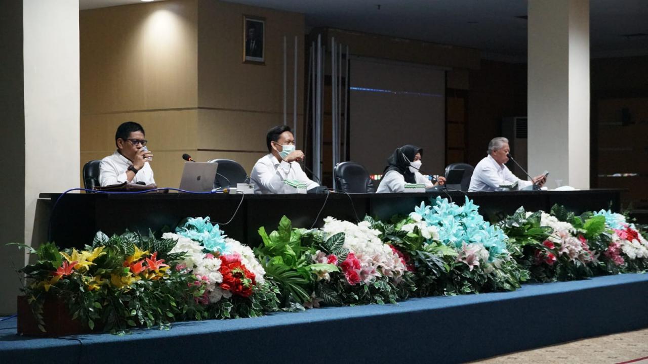 Bidang I Akademik UIN Alauddin Bersama LPM Sosialisasi ISK Akreditasi A Menjadi Unggu