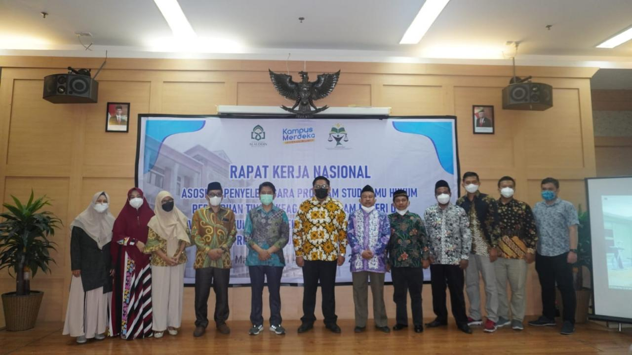 Dekan FSH UIN Alauddin Lantik Pengurus APSI PTKIN Periode 2021-2023