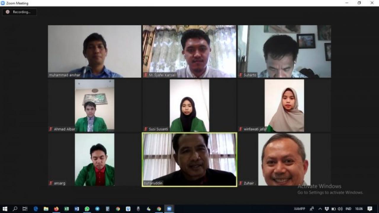 Empat Mahasiswa FST UIN Alauddin Terima Beasiswa Hadji Kalla