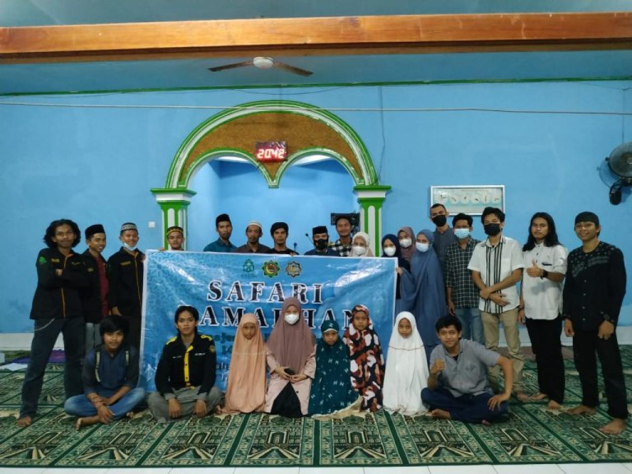 Gambar HMJ MHU Gelar Safari Ramadhan dan Baksos