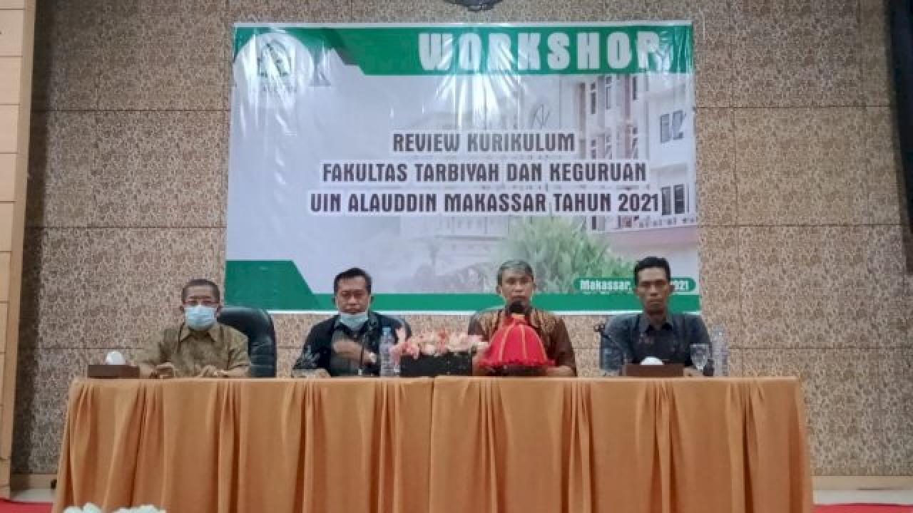 Gambar Implementasi MBKM, FTK UIN Alauddin Adakan Workshop Review Kurikulum