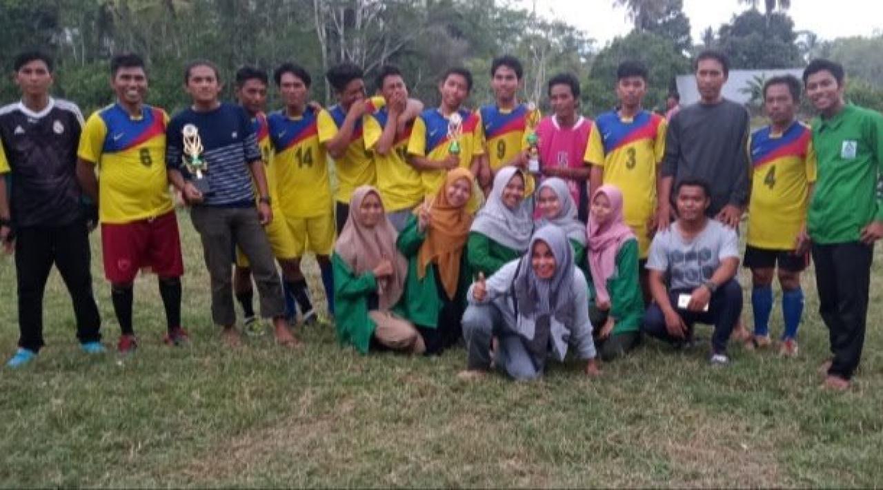 Gambar Mahasiswa KKN UIN Alauddin Desa Tallang Bulawang Luwu Sukses Gelar Pekan Olahraga