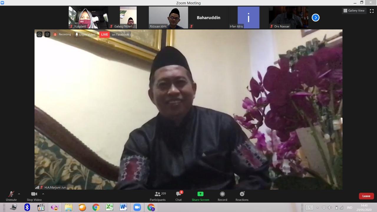 Meraih Fitrah di Tengah Pandemi, Jadi Tema Halal Bihalal FTK UIN Alauddin