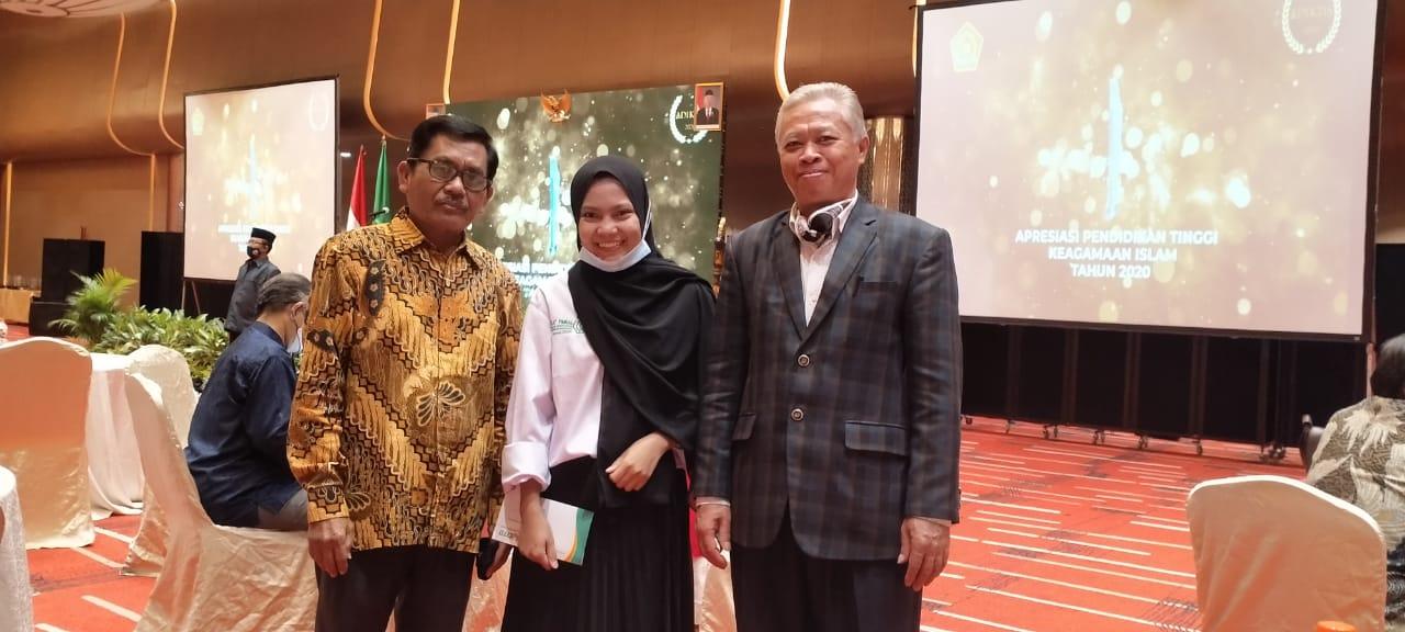 Gambar Nur Wahyu Ningsih, Mahasiswa UIN Alauddin Raih Peringkat 5 Diklatpimnas Kemenag RI