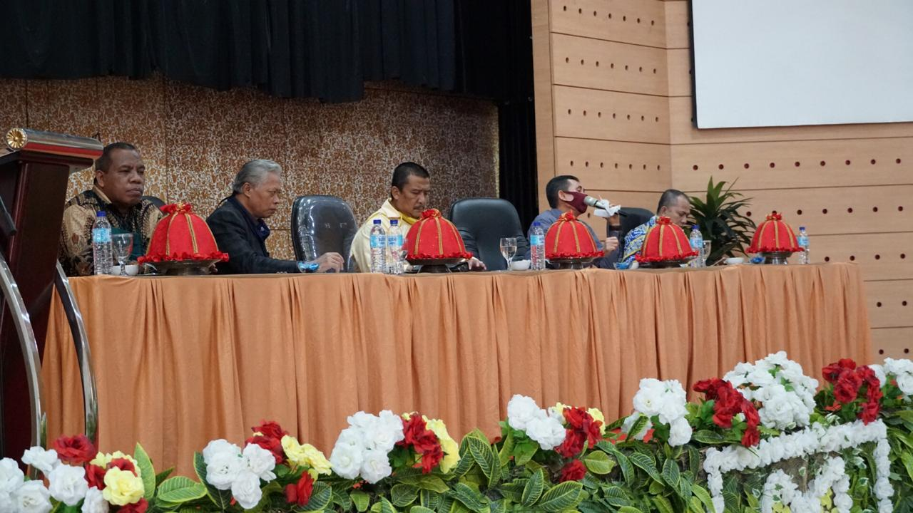Pimpinan UIN Alauddin Gelar Pertemuan dengan Lembaga Kemahasiswaan Bahas UKT