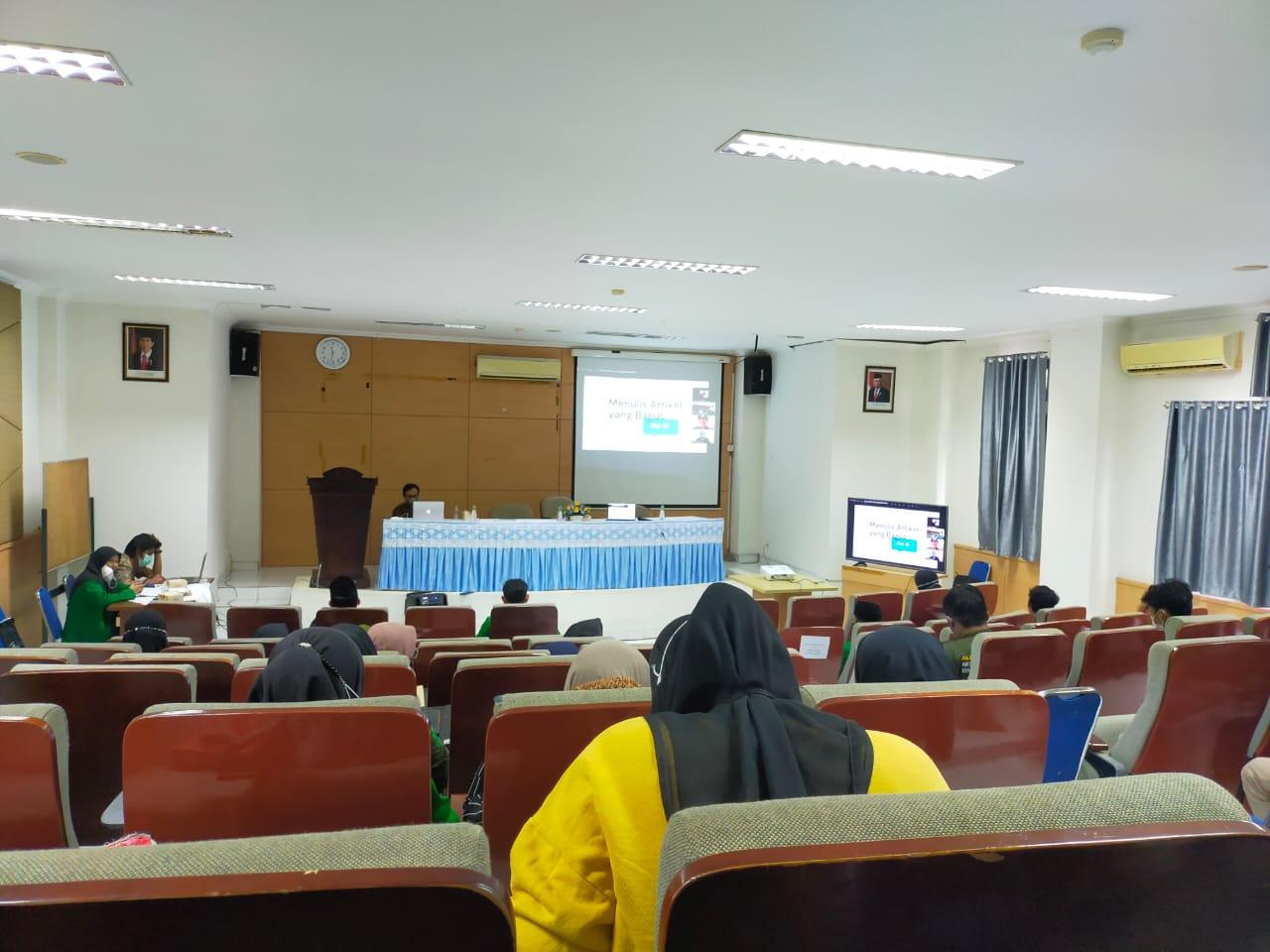 Gambar Prodi Aqidah dan Filsafat UIN Alauddin Gelar Workshop Penulisan Artikel Jurnal