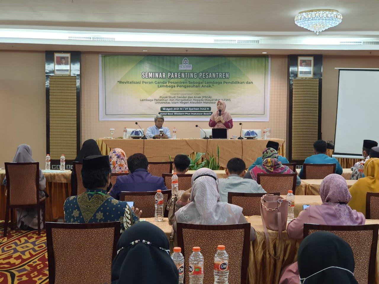 Pusat Studi Gender dan Anak UIN Alauddin Gelar Seminar Pesantren Ramah Anak