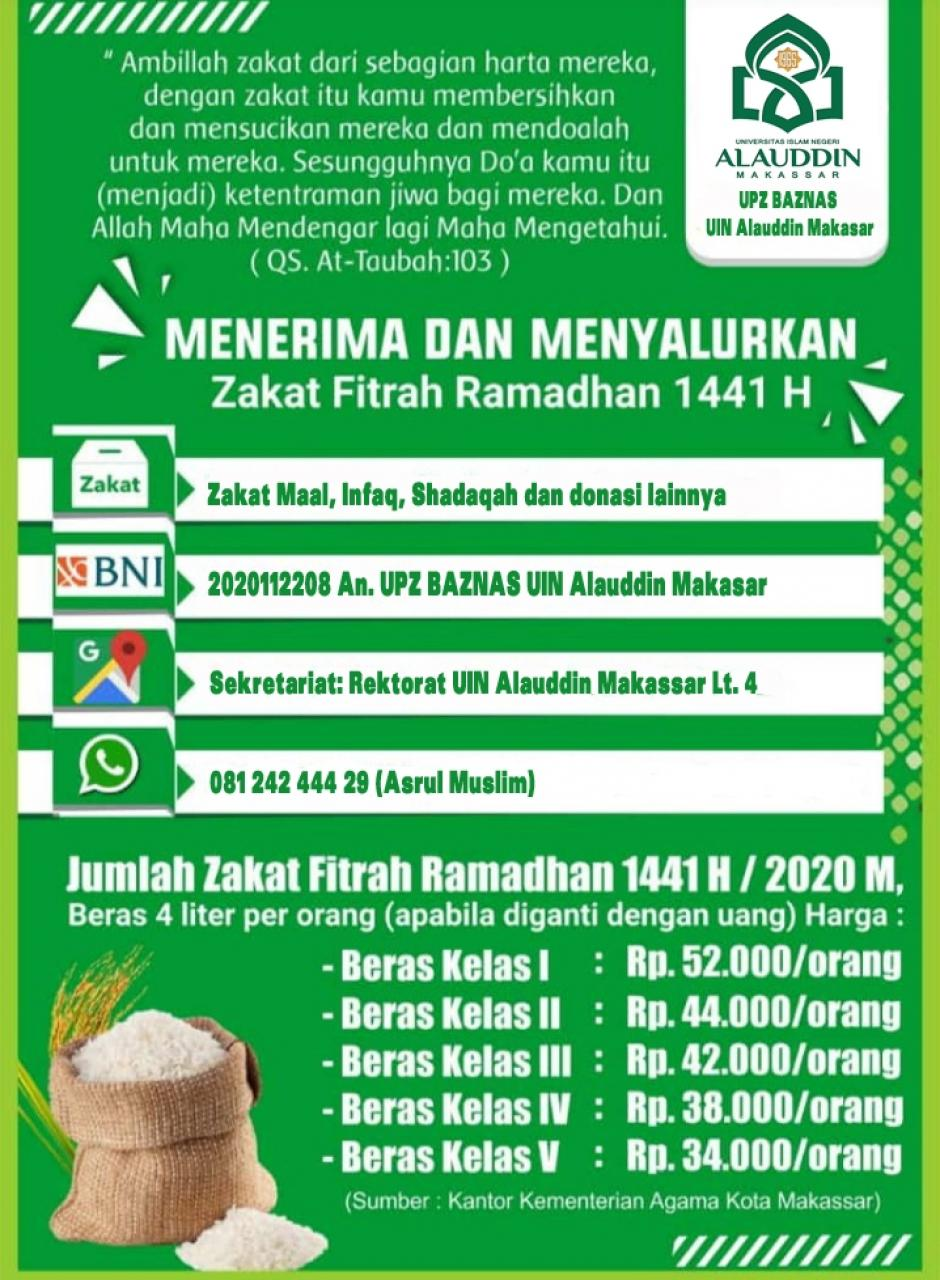 Gambar Unit Pengelola Zakat (UPZ) UIN Alauddin Makassar Resmi Terbentuk