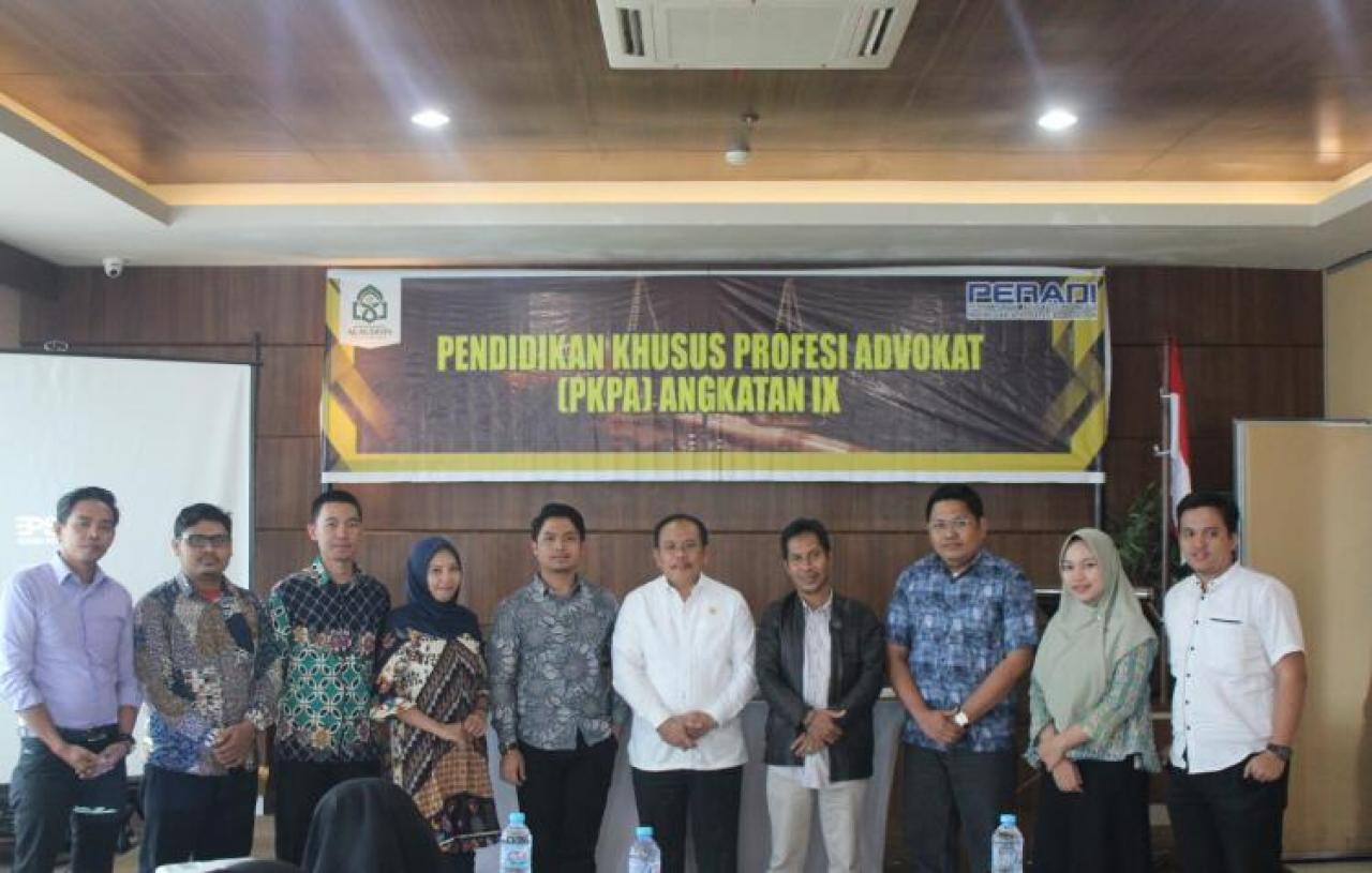 Gambar Wakil Ketua MK Prof Aswanto, Jadi Pembicara di PKPA UIN Alauddin Makassar