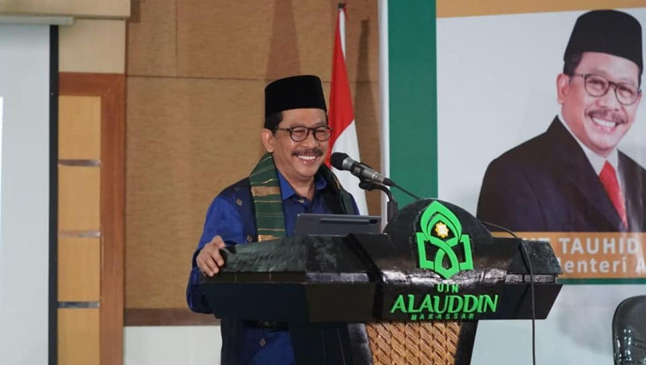 Gambar Wakil Menteri Agama Canangkan Rumah Moderasi Beragama UIN Alauddin