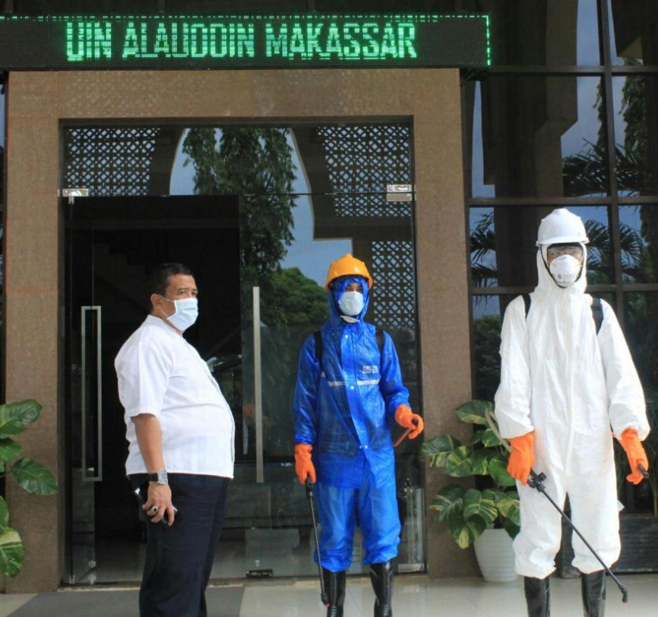 Wakil Rektor II, Ajak Masyarakat Periksakan Diri di Poliklinik UIN Alauddin